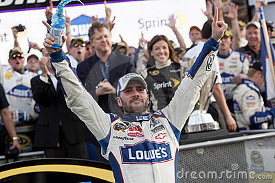 NASCAR: NOV 21 Ford 400 Editorial Photo