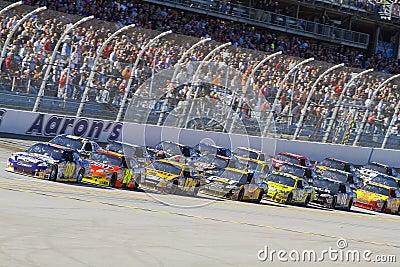 NASCAR:  November 01 Amp Energy 500 Editorial Image