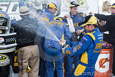 NASCAR:  November 01 Amp Energy 500 Editorial Photography
