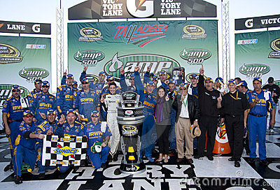 NASCAR:  November 01 Amp Energy 500 Editorial Stock Photo