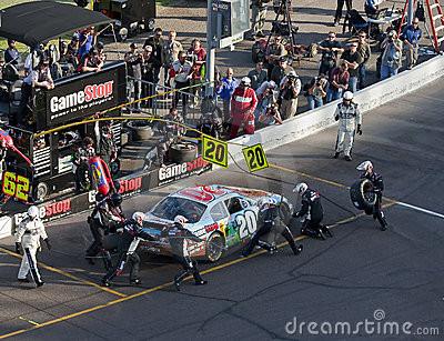 NASCAR:  November 14 Able Body Labor 200 Editorial Stock Image