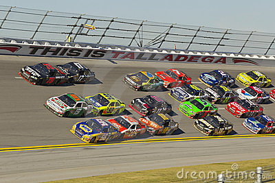 NASCAR:  Oct 31 AMP Energy Juice 500 Editorial Stock Image