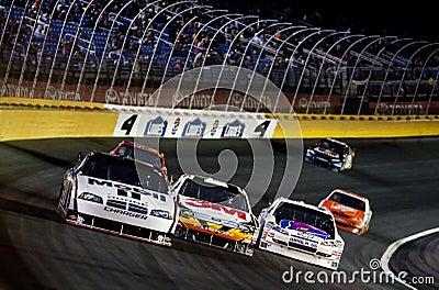 NASCAR:  October 17 NASCAR Banking 500 Editorial Photo