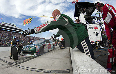 NASCAR:  October 25 Tums Fast Relief 500 Editorial Stock Image