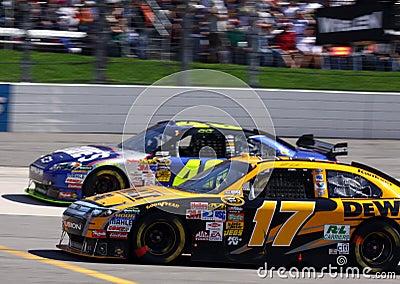 NASCAR - Past Meets Present Editorial Photo