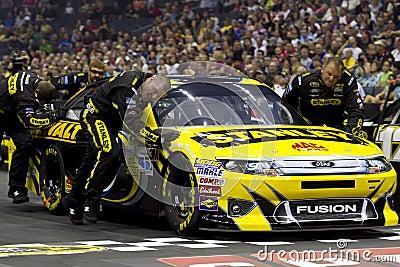 NASCAR: Pit Crew Challenge Ambrose Editorial Stock Photo