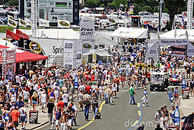 NASCAR - Pre Race Activities Outside the Track Editorial Photography