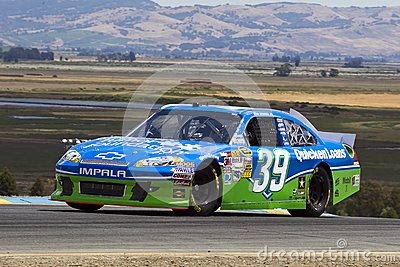 NASCAR: Ryan Newman Sonoma Editorial Stock Photo