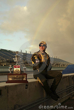 NASCAR s 2003 Champion, Matt Kenseth Editorial Image