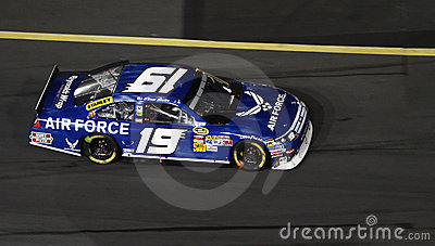 NASCAR - Sadler In Motion! Editorial Stock Image