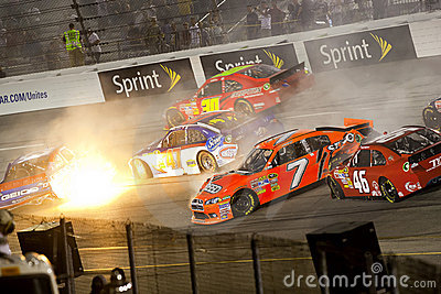 NASCAR:  Sep 10 Wonderful Pistachios 400 Editorial Stock Photo
