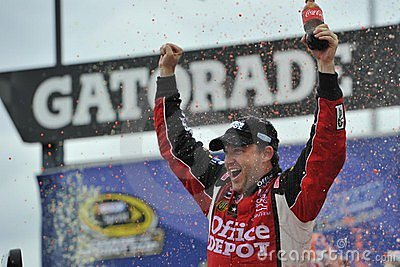 NASCAR:  Sep 19 Geico 400 Editorial Photo