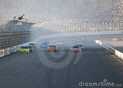 NASCAR:  September 20 Sylvania 300 Editorial Photo
