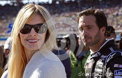 NASCAR Sprint Cup Champion driver Jimmie Johnson Editorial Photography
