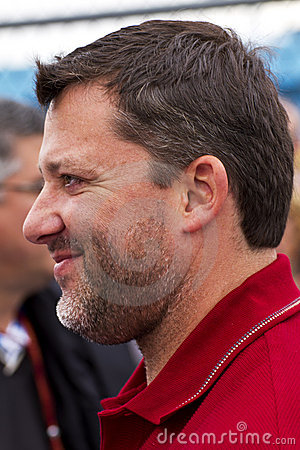 NASCAR Sprint Cup Champion driver Tony Stewart Editorial Image