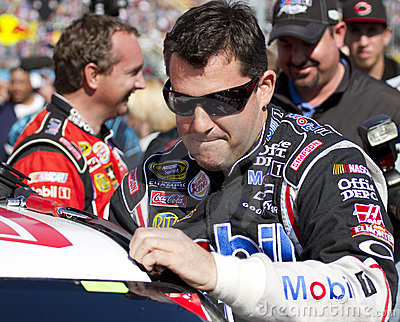 NASCAR Sprint Cup Champion driver Tony Stewart Editorial Photography