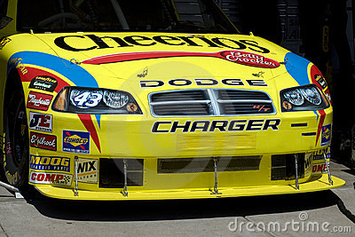 2008 NASCAR Sprint Cup driver Bobby Labonte's car is pictured in the