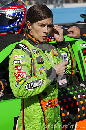 NASCAR Sprint Cup and Nationwide Danica Patrick Editorial Stock Photo