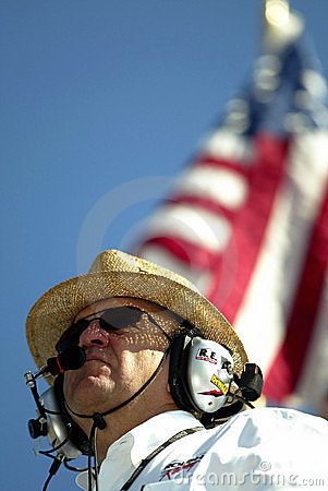 NASCAR Sprint Cup Owner Jack Roush Editorial Photography
