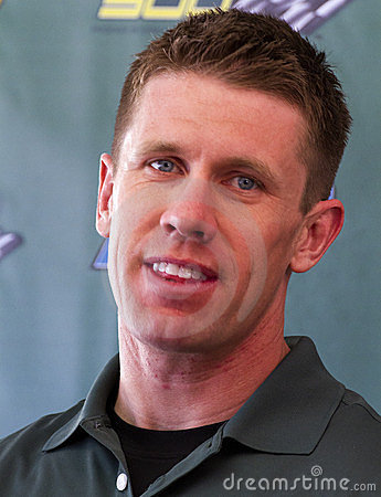NASCAR Sprint Cup race driver Carl Edwards Editorial Stock Image