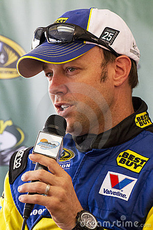 NASCAR Sprint Cup race driver Matt Kenseth Editorial Stock Photo