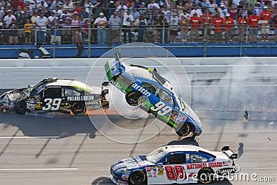 NASCAR  Sprint Cup Series Aarons 499 Apr 26 Editorial Photography