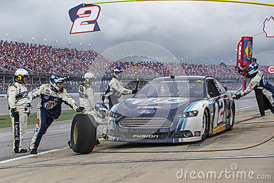 NASCAR 2013:  Sprint Cup Series Aarons 499 MAY 05 Editorial Stock Image