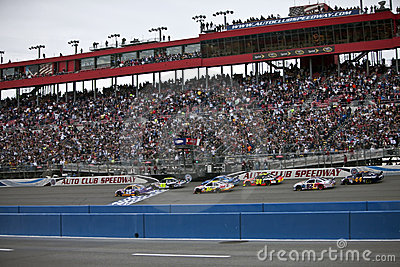 NASCAR:  Sprint Cup Series Auto Club 500 Feb 22 Editorial Photo