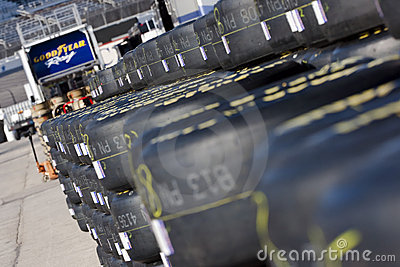 NASCAR  Sprint Cup Series Samsung 500 Apr 2 Editorial Stock Image