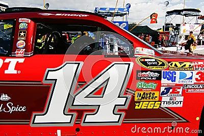 NASCAR - Stewart s #14 Chevrolet Editorial Stock Photo
