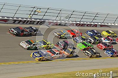 NASCAR: Suco 500 da energia de outubro 31 ampère Imagem de Stock Editorial