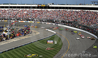 NASCAR - Turn 1 in Richmond Editorial Photo