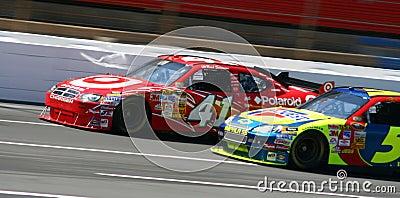 NASCAR - Wheel to Wheel Racing! Editorial Image