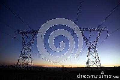 Nascer do sol elétrico
