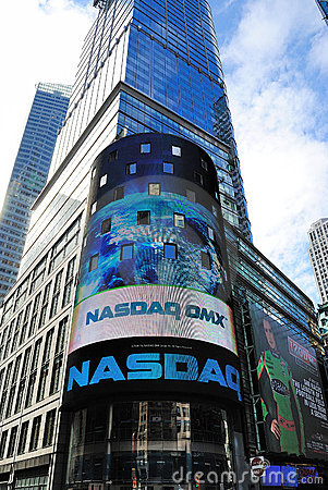 NASDAQ Headquarters Editorial Image
