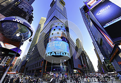 The NASDAQ Stock Market Royalty Free Stock Images - Image: 29566579