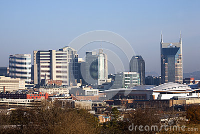 The Nashville skyline Editorial Image