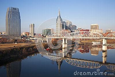 The Nashville skyline Editorial Photo