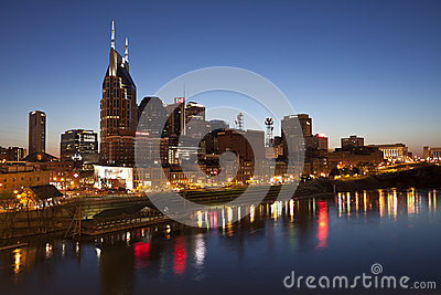 Nashville, Tennessee Skyline Editorial Image