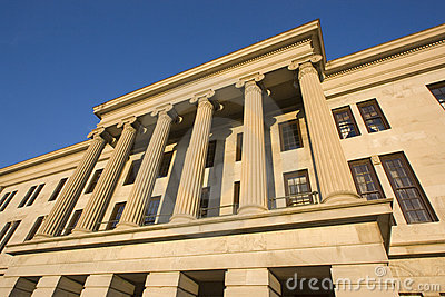 Nashville, Tennessee - State Capitol.