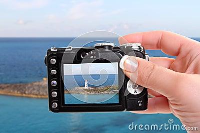 Nassau lighthouse snapshot