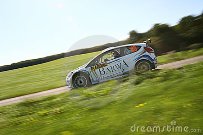 Nasser Al-Attiyah and Giovanni Bernacc Editorial Stock Image