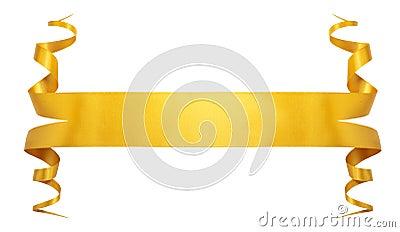 Nastro dell oro di eleganza