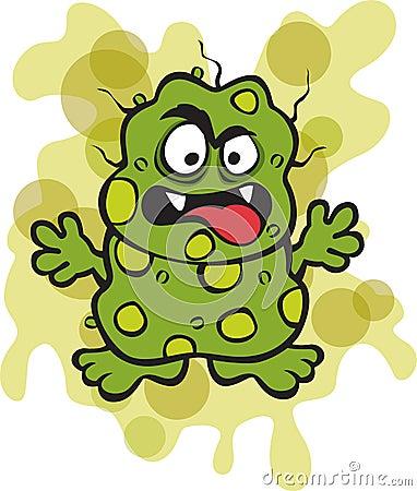Nasty Germ Microbe