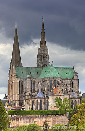 Nasz Chartres katedralna dama France