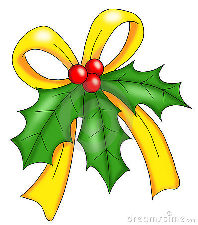 Natale vischio immagine stock immagine 12009491 for Una decorazione e formata da cinque rombi simili