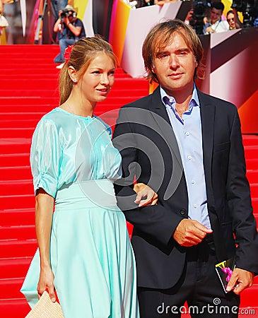 Aleksander Kushaev at Moscow Film Festival Editorial Photo