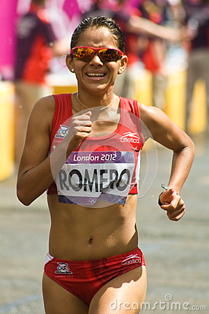 Natalia Romero - Women s Olympic Marathon Editorial Stock Image