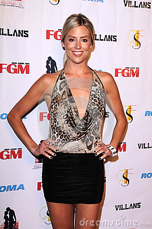 Natalie Getz at the FGM Swimsuit Issue Launch Hosted By Roma Swimwear, The Colony, Hollywood, CA 05-26-12 Editorial Stock Photo