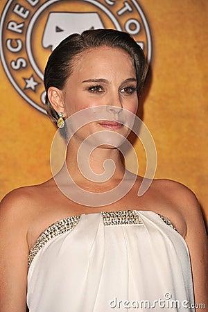 Natalie Portman,Black Swan Editorial Stock Photo